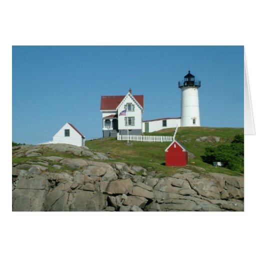 Nubble Light Maine 281 Greeting Card