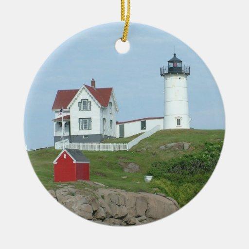 Nubble Light Ornament