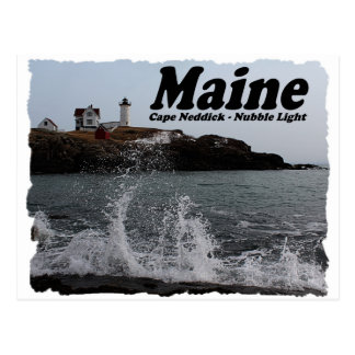 Nubble Light Postcard