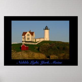 Nubble Light, York, Maine    Print