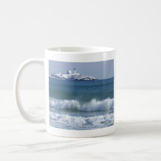Nubble Lighthouse 2 Classic White Coffee Mug