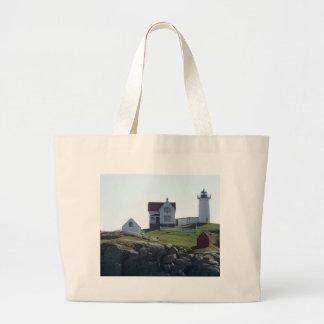 Nubble Lighthouse Canvas Bag