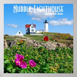 Nubble Lighthouse, Cape Neddick, Maine Poster