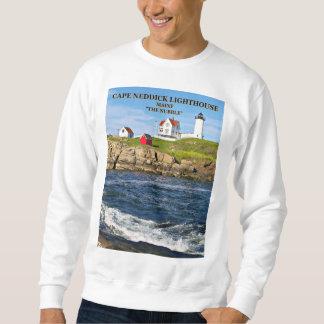 Nubble Lighthouse, Cape Neddick Maine Sweatshirt