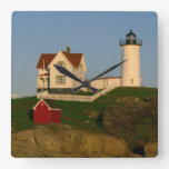 Nubble Lighthouse in York Maine Wallclock