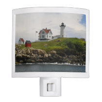 Nubble Lighthouse in York, ME Night Light