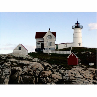 Nubble Lighthouse in York, ME Statuette