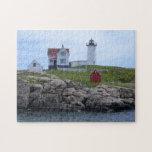 "Nubble Lighthouse - Maine Jigsaw Puzzle<br><div class=""desc"">Nubble Lighthouse</div>"