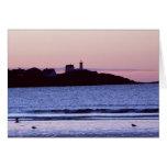 Nubble Lighthouse Maine Photo Cards