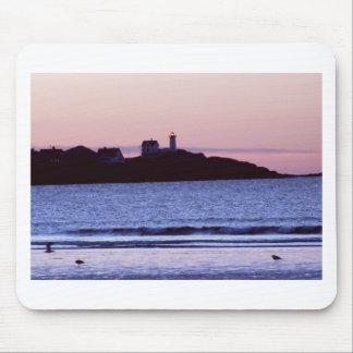 Nubble Lighthouse Maine Photo Mouse Pad