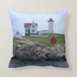 Nubble Lighthouse - Maine Pillow