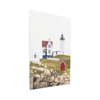 Nubble Lighthouse Metal Wall Art