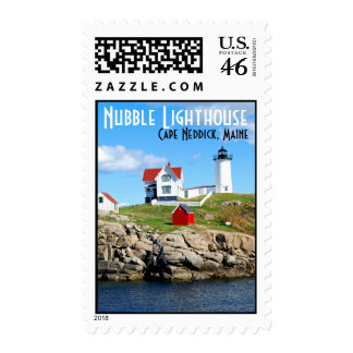 Nubble Lighthouse Stamp