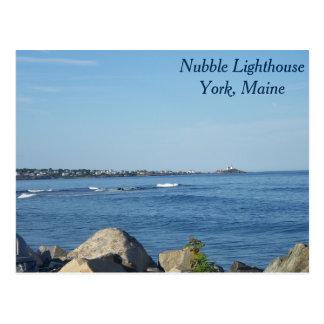 Nubble Lighthouse, York Maine Postcard