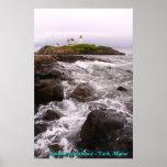 Nubble Lighthouse - York, Maine Print