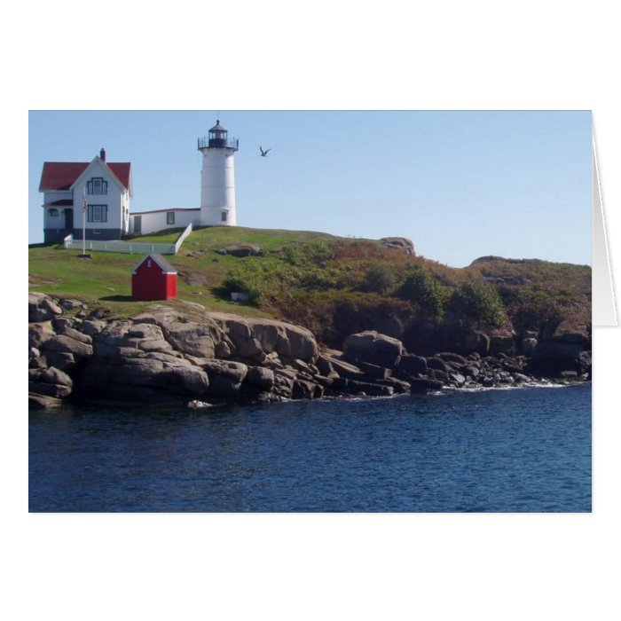 Nubbles Lighthouse-Maine Card