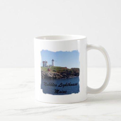 Nubbles Lighthouse-Maine Classic White Coffee Mug