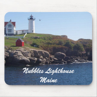 Nubbles Lighthouse-Maine Mouse Pad