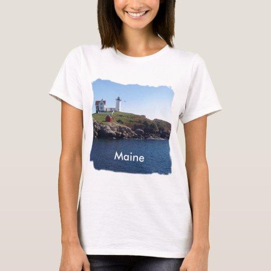 Nubbles Lighthouse-Maine T-Shirt