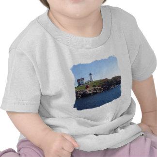 Nubbles Lighthouse-Maine Tee Shirts