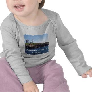Nubbles Lighthouse-Maine Tshirt