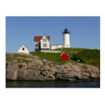 Nubbles Lighthouse- New England Post Card