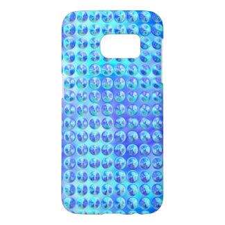 Nubby Blue Glass Samsung Galaxy S7 Case