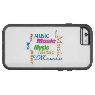 Nube 3 de MusicWord Funda De iPhone 6 Tough Xtreme