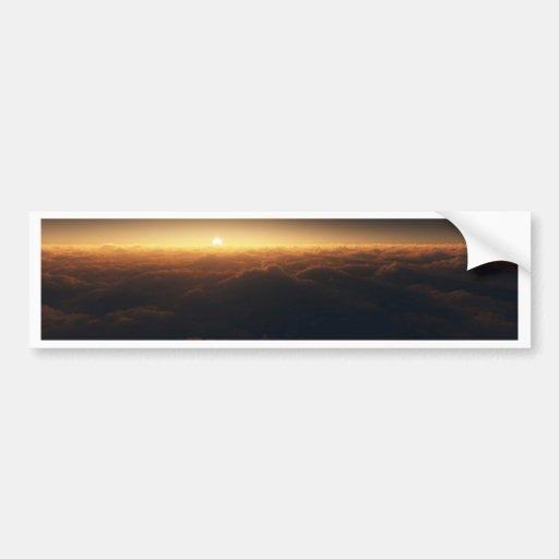 Nube 9 etiqueta de parachoque