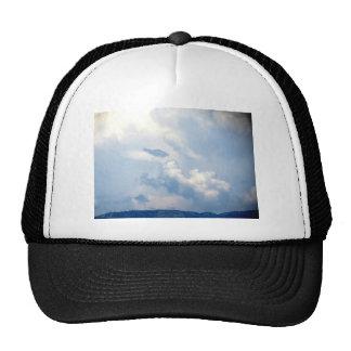 Nube blanca 10 gorras de camionero