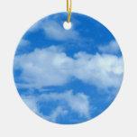 Nube blanca 12 ornamento para reyes magos