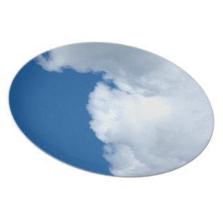 Nube blanca 16 plato