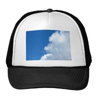 Nube blanca 17 gorras de camionero