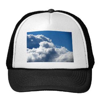 Nube blanca 23 gorras de camionero