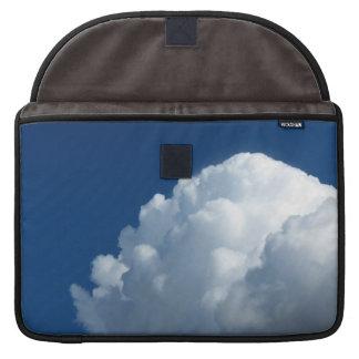 Nube blanca 28 fundas para macbook pro