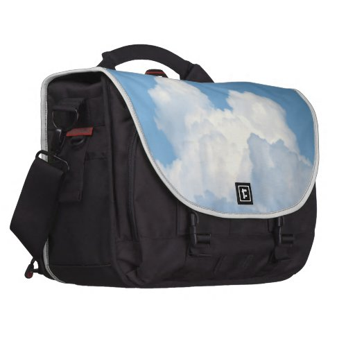 Nube blanca 2 bolsas para ordenador