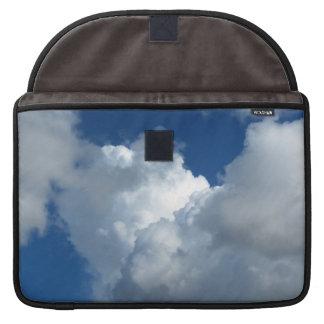 Nube blanca 33 funda para macbooks