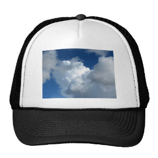 Nube blanca 33 gorro de camionero