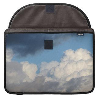 Nube blanca 34 fundas para macbook pro