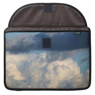 Nube blanca 36 funda para macbooks