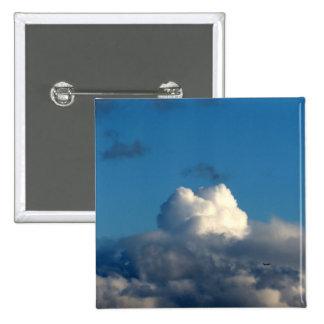 Nube blanca 41 pin cuadrada 5 cm