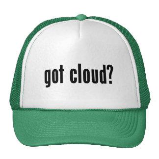 ¿nube conseguida? gorro de camionero