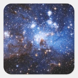 Nube de estrella colcomanias cuadradas