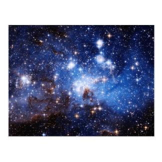 Nube de estrella postales