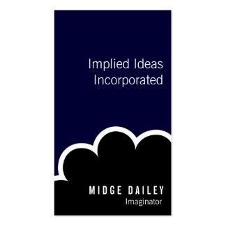 Nube de Imaginator Tarjeta De Visita