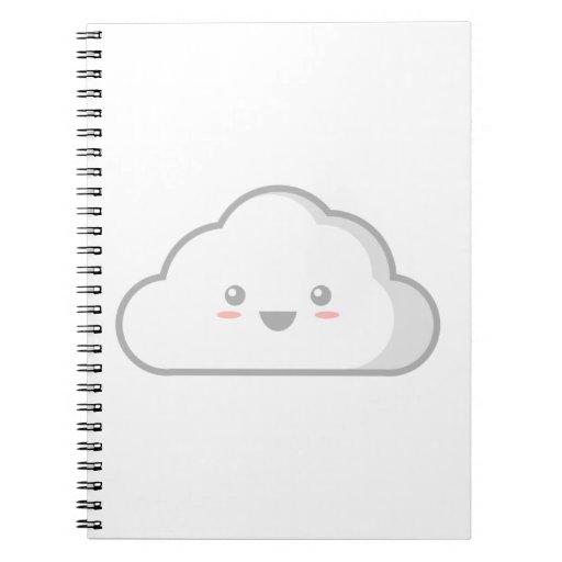 Nube de Kawaii Libros De Apuntes