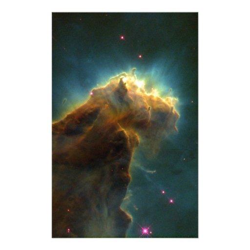 Nube de la explosión de la estrella papelería personalizada