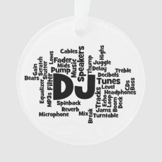 Nube de la palabra de DJ