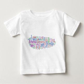 Nube de la palabra de Emma Playera Para Bebé