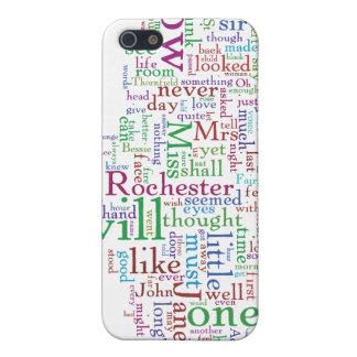 Nube de la palabra de Jane Eyre iPhone 5 Protectores